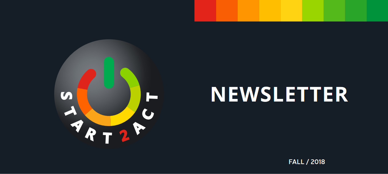 Fourth START2ACT Newsletter brings fresh content